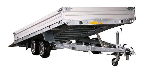 hydraulic tilt trailer