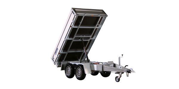1-way hydraulic tipper trailer