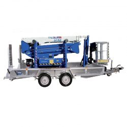 bluelift scissor lift trailer